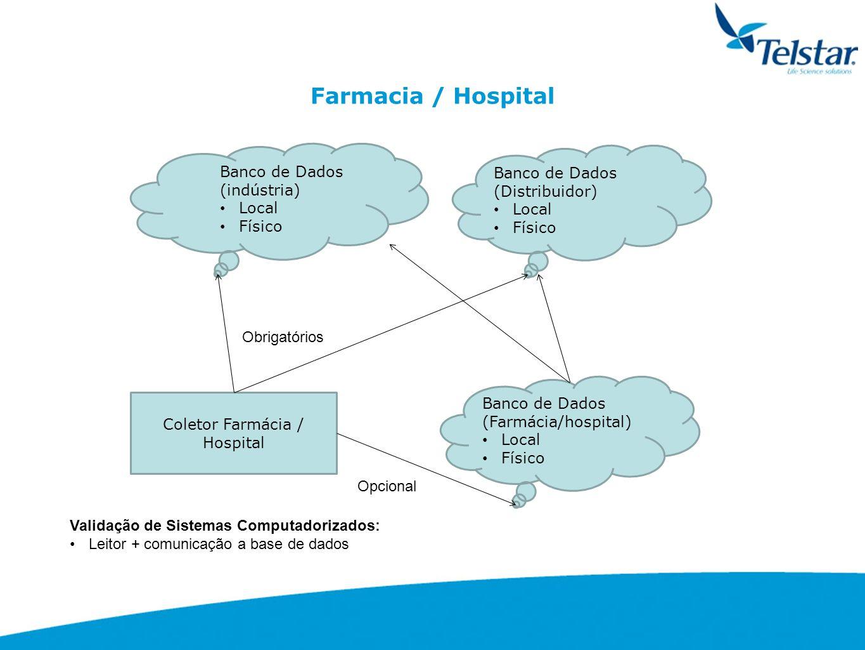 Coletor Farmácia / Hospital