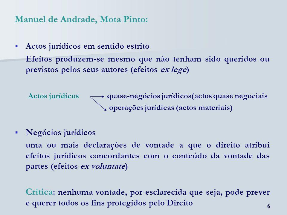 Manuel de Andrade, Mota Pinto: