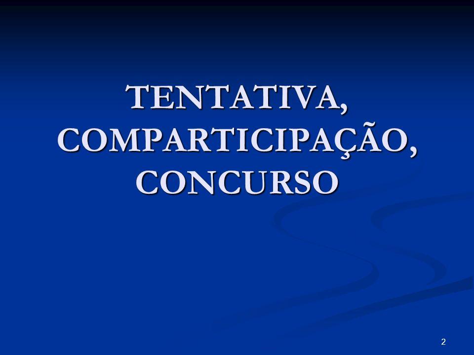 TENTATIVA, COMPARTICIPAÇÃO, CONCURSO