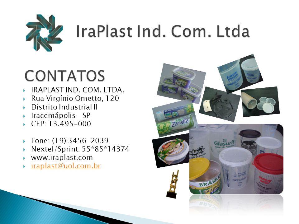IraPlast Ind. Com. Ltda CONTATOS IRAPLAST IND. COM. LTDA.