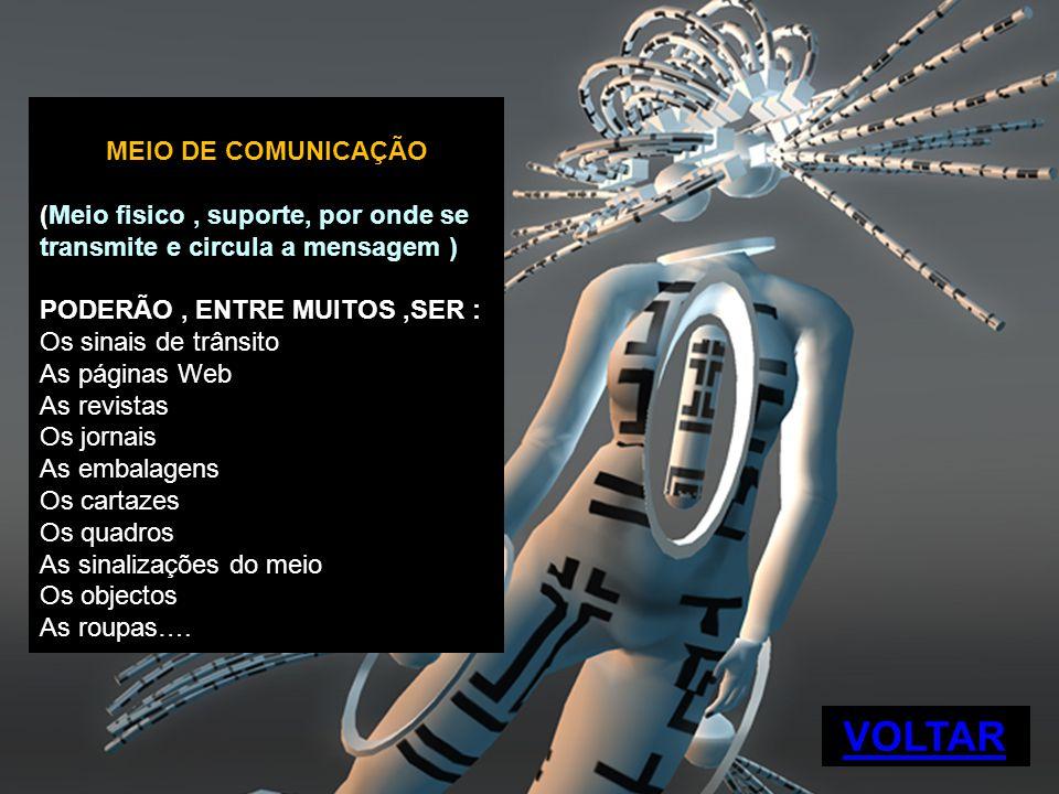 VOLTAR MEIO DE COMUNICAÇÃO