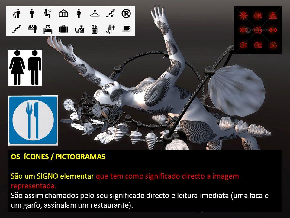 OS ÍCONES / PICTOGRAMAS
