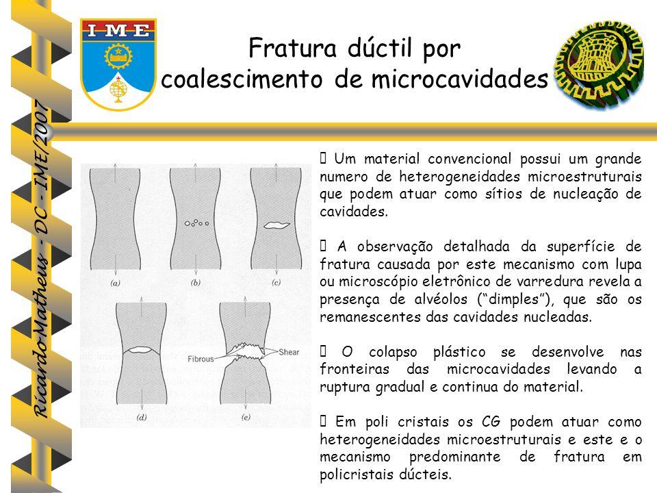 coalescimento de microcavidades