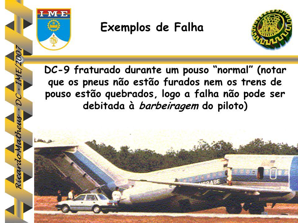 Exemplos de Falha