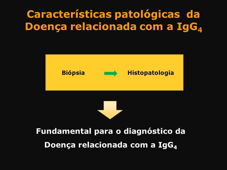 Características patológicas da Doença relacionada com a IgG4
