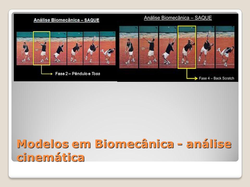 Modelos em Biomecânica - análise cinemática