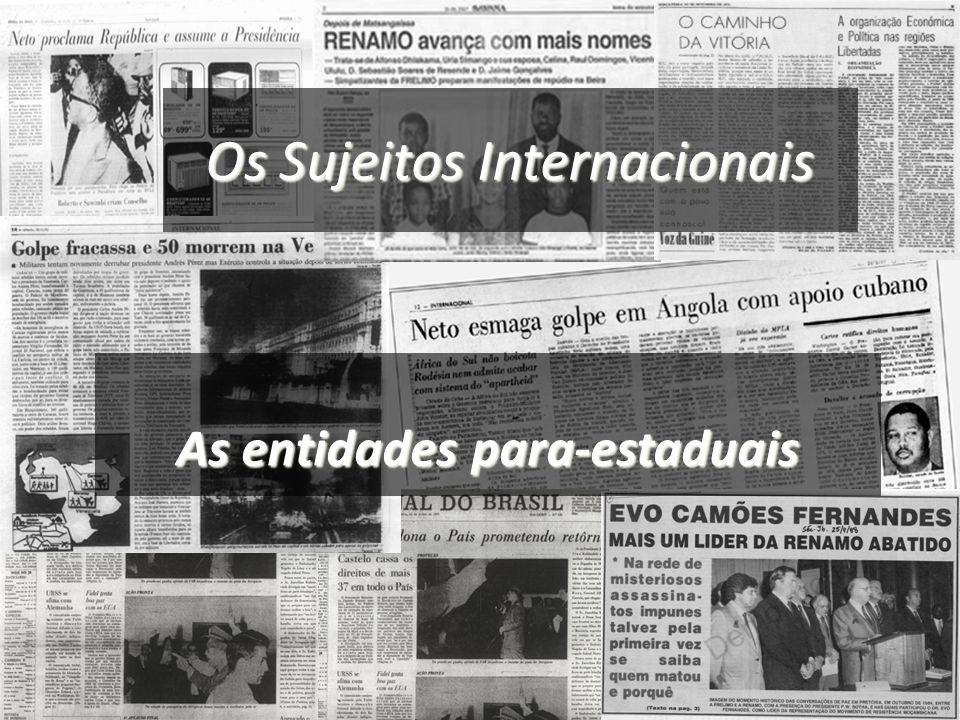 Os Sujeitos Internacionais