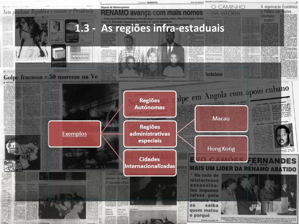 1.3 - As regiões infra-estaduais