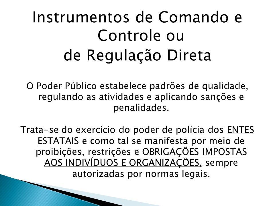 Instrumentos de Comando e Controle ou
