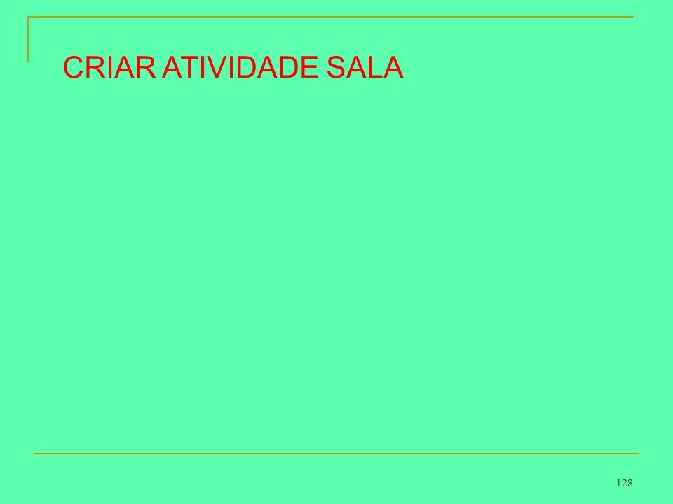 CRIAR ATIVIDADE SALA