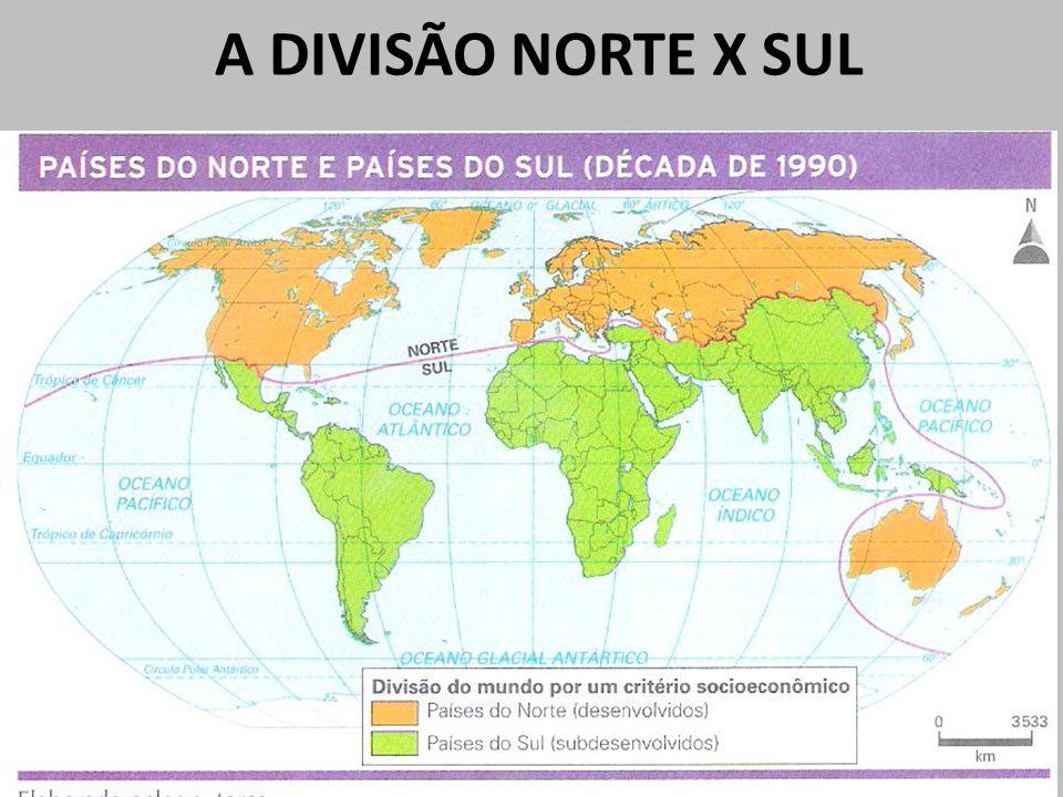 A DIVISÃO NORTE X SUL