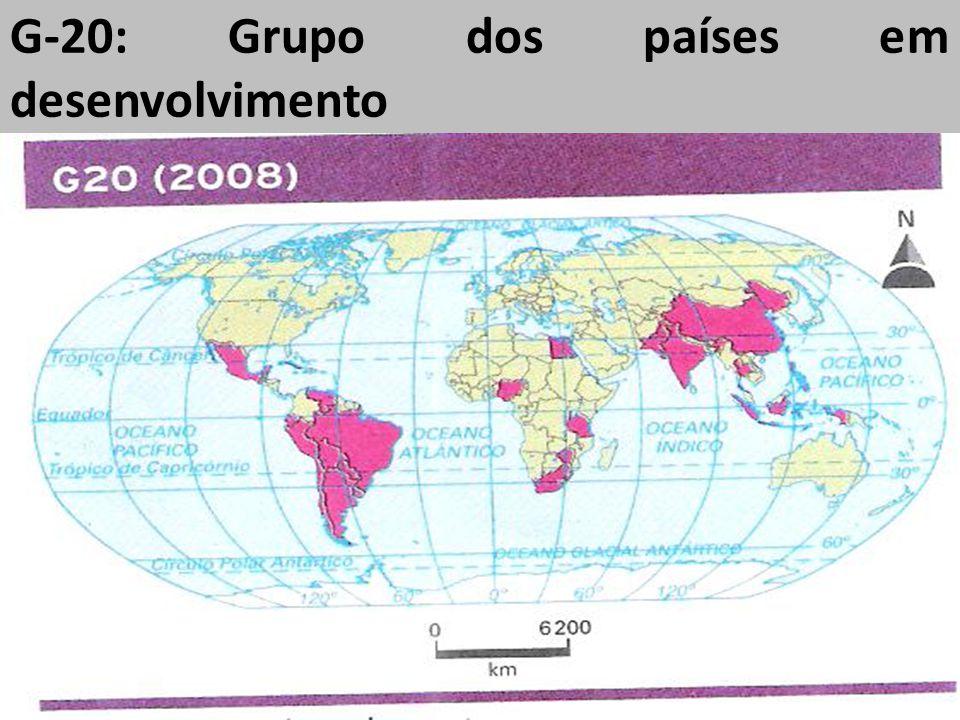 G-20: Grupo dos países em desenvolvimento