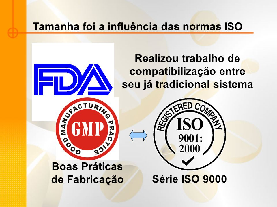 Tamanha foi a influência das normas ISO