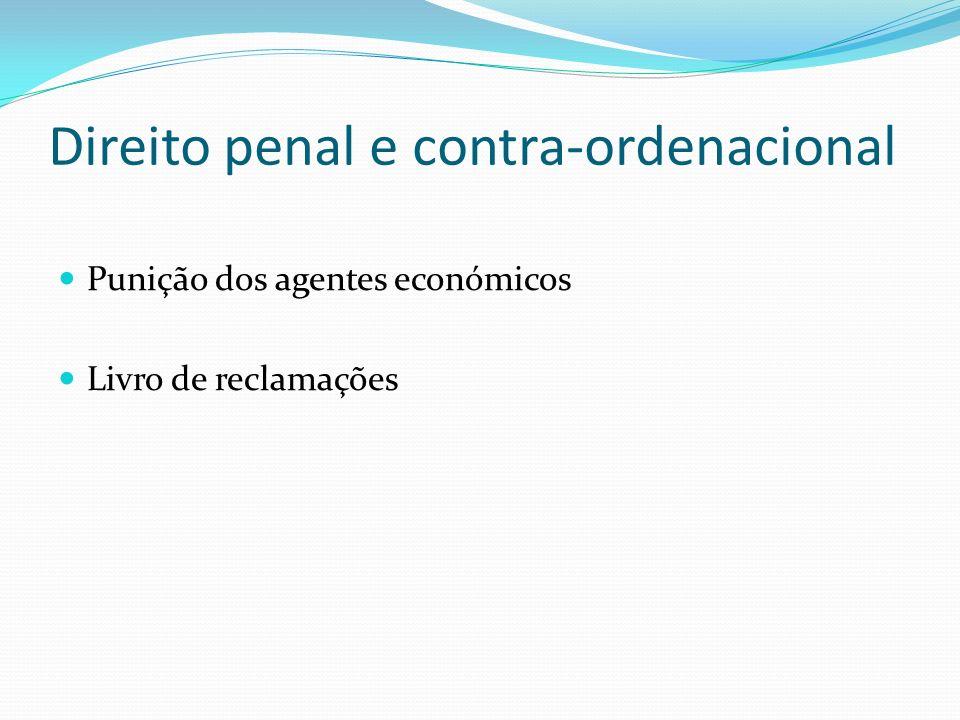 Direito penal e contra-ordenacional