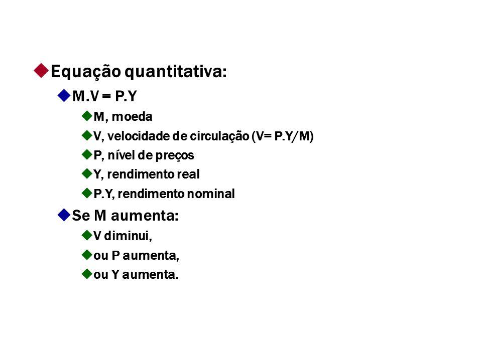 Equação quantitativa: