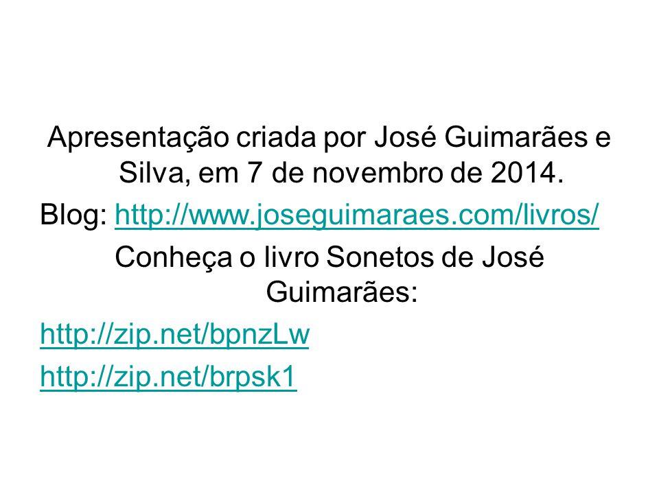 Conheça o livro Sonetos de José Guimarães: