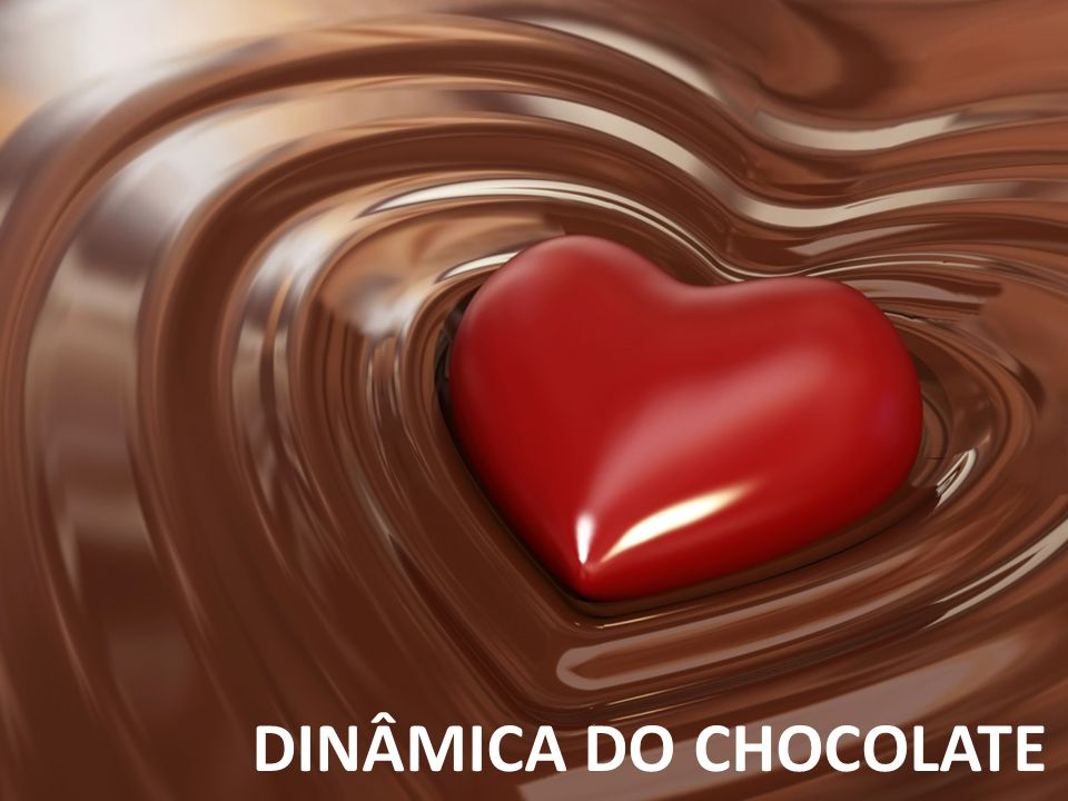 DINÂMICA DO CHOCOLATE Assegurar que compreendeu o outro
