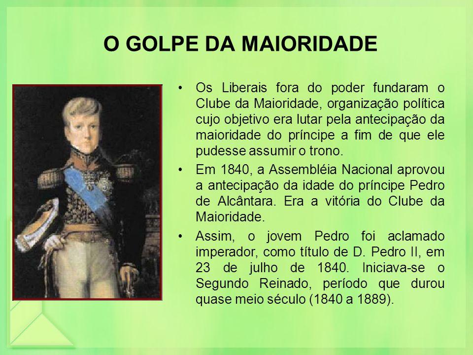 O GOLPE DA MAIORIDADE