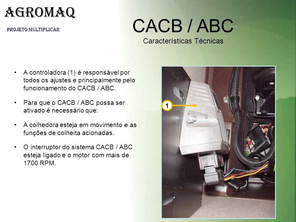 CACB / ABC Características Técnicas
