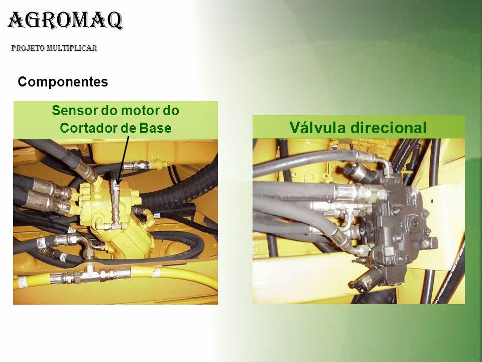 Componentes Sensor do motor do Cortador de Base Válvula direcional