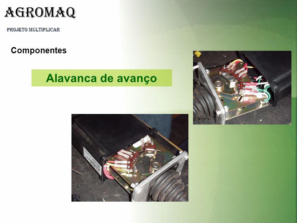 Alavanca de avanço Componentes