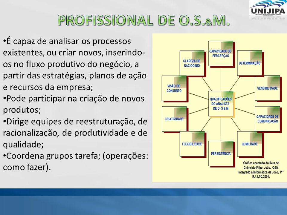 Profissional de o.s.&M.