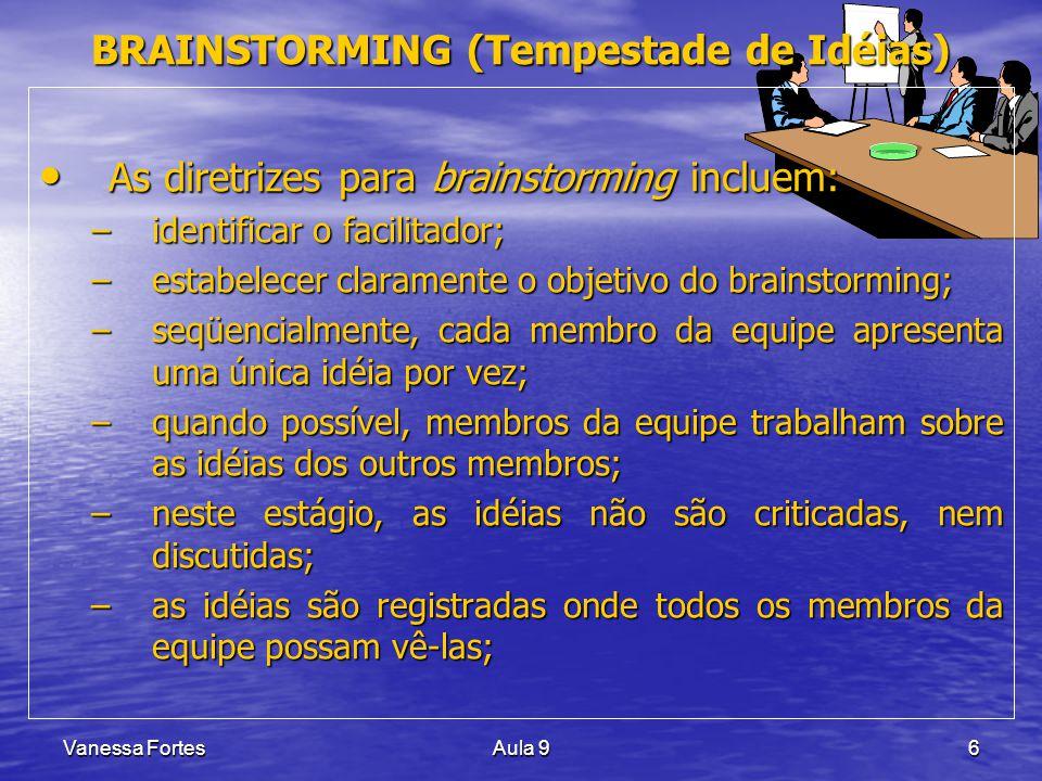 BRAINSTORMING (Tempestade de Idéias)