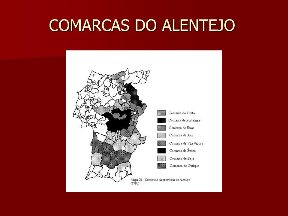 COMARCAS DO ALENTEJO