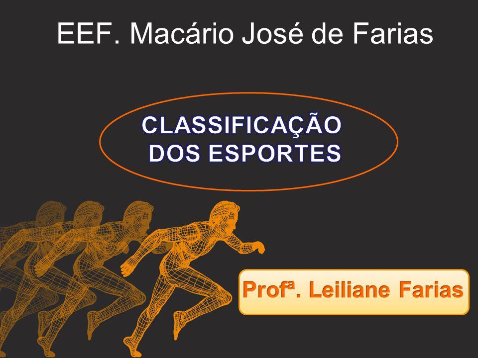 EEF. Macário José de Farias