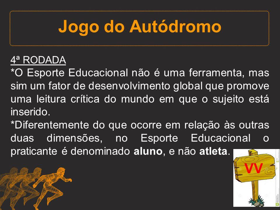 Jogo do Autódromo 4ª RODADA.