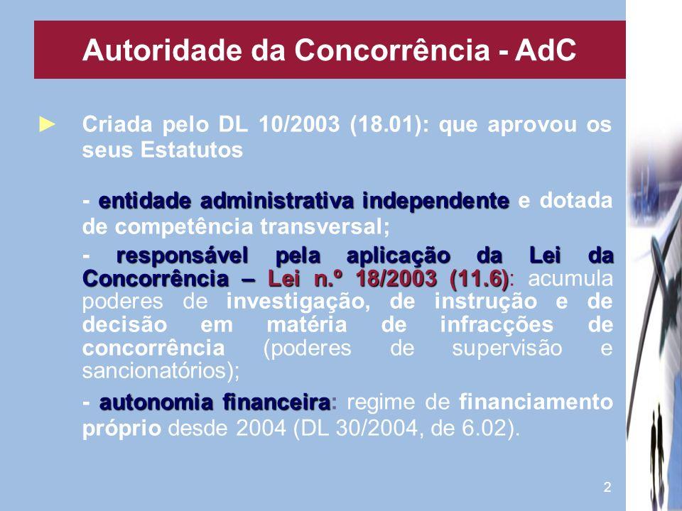 Autoridade da Concorrência - AdC