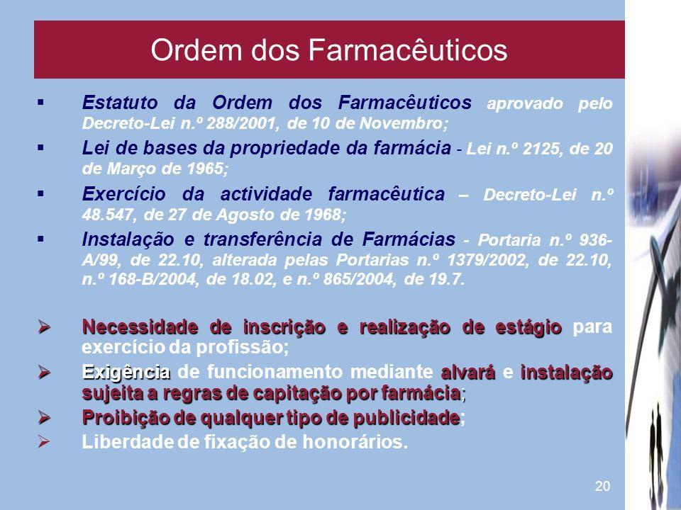 Ordem dos Farmacêuticos