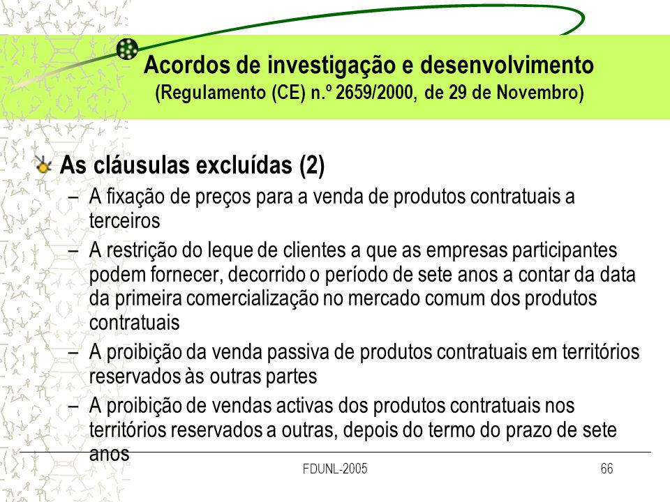 As cláusulas excluídas (2)