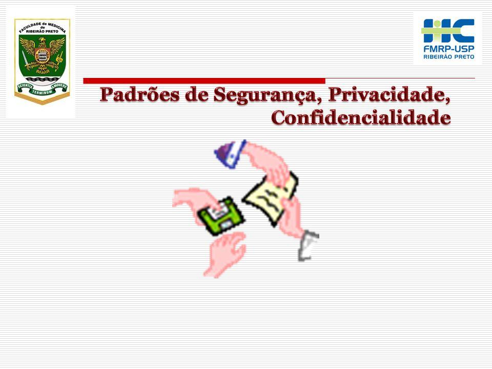 Padrões de Segurança, Privacidade, Confidencialidade
