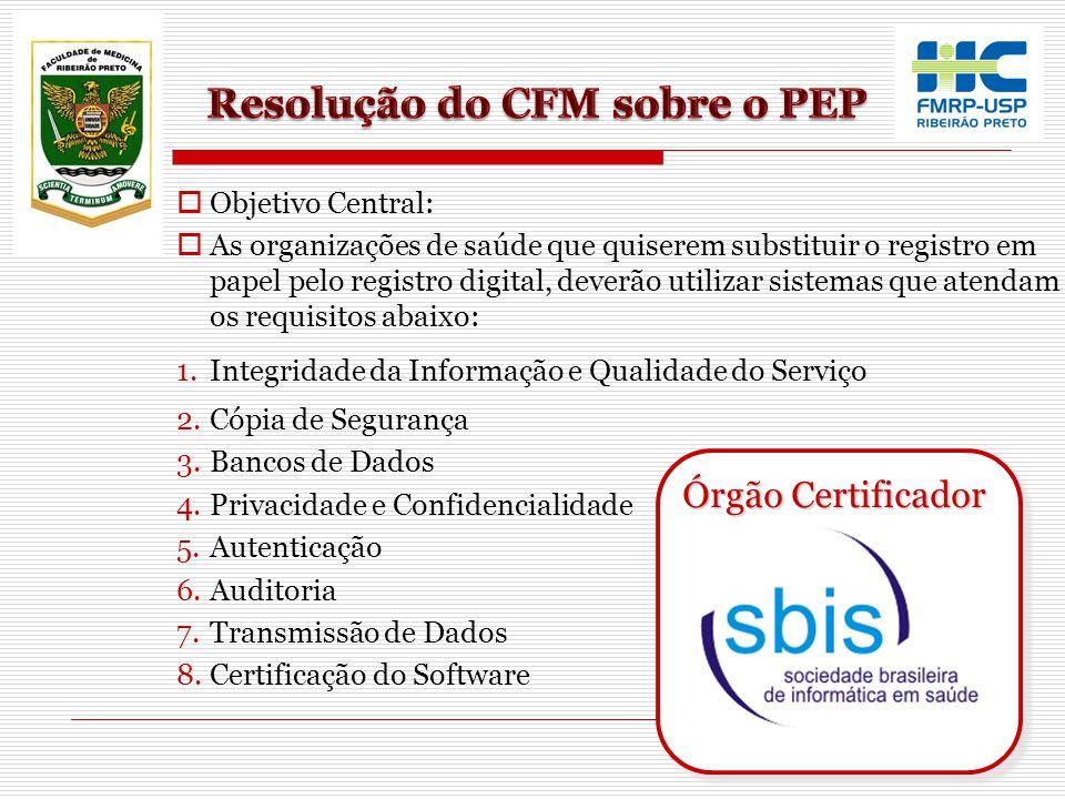 Resolução do CFM sobre o PEP