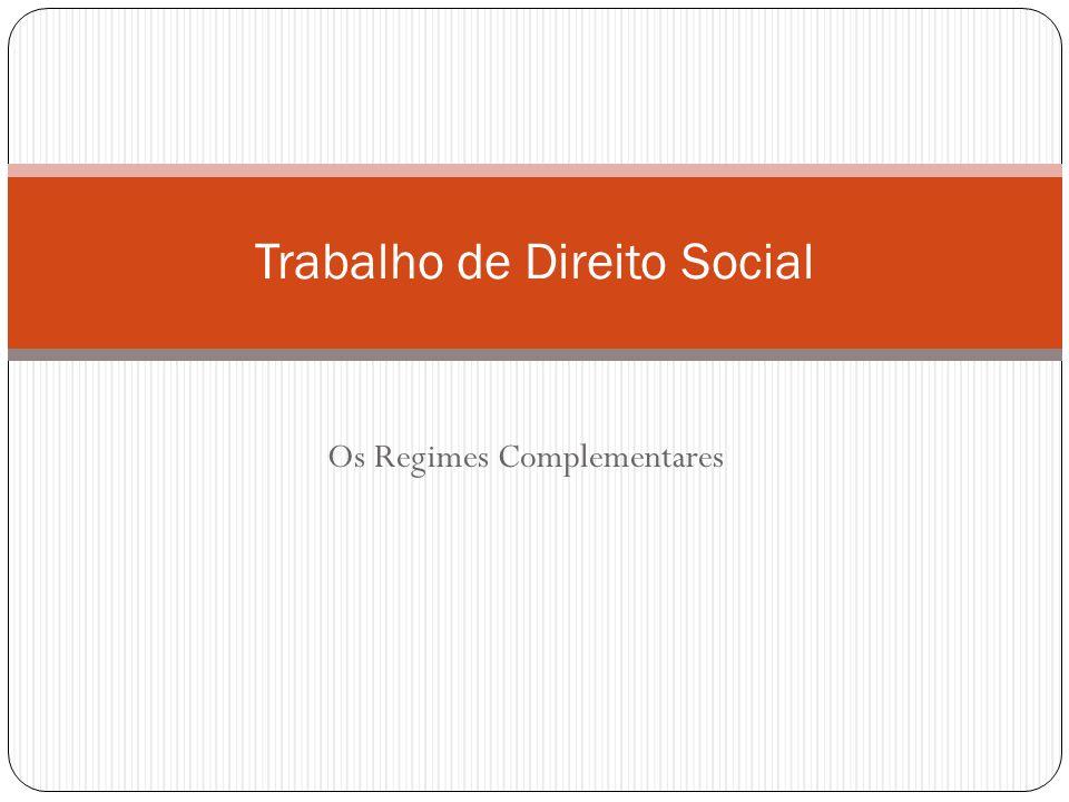 Trabalho de Direito Social