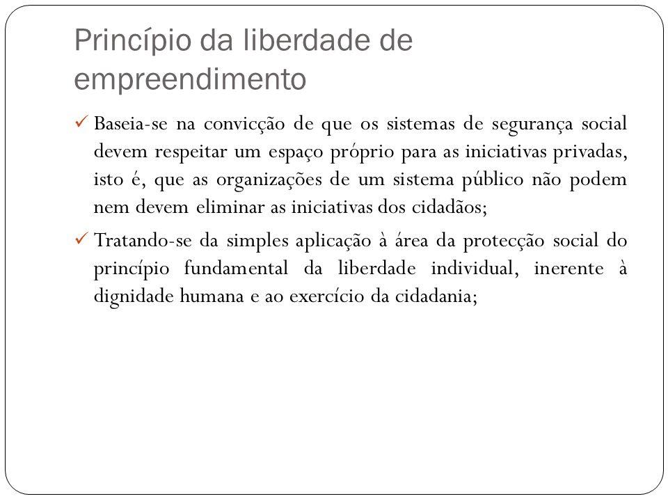 Princípio da liberdade de empreendimento