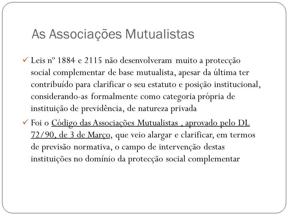 As Associações Mutualistas