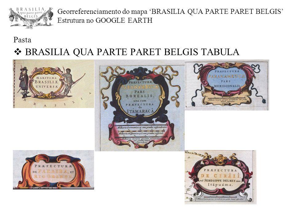 Pasta BRASILIA QUA PARTE PARET BELGIS TABULA