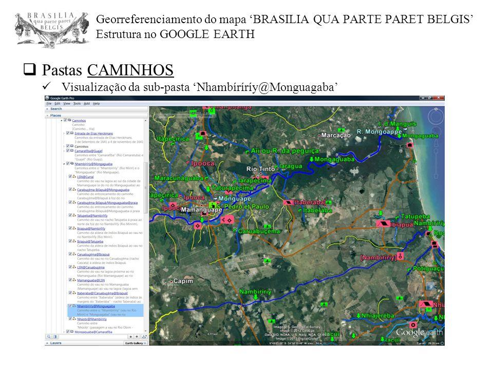 Pastas CAMINHOS Visualização da sub-pasta 'Nhambíríríy@Monguagaba'