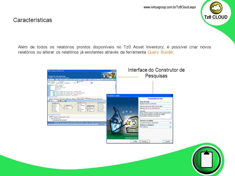 Interface do Construtor de Pesquisas