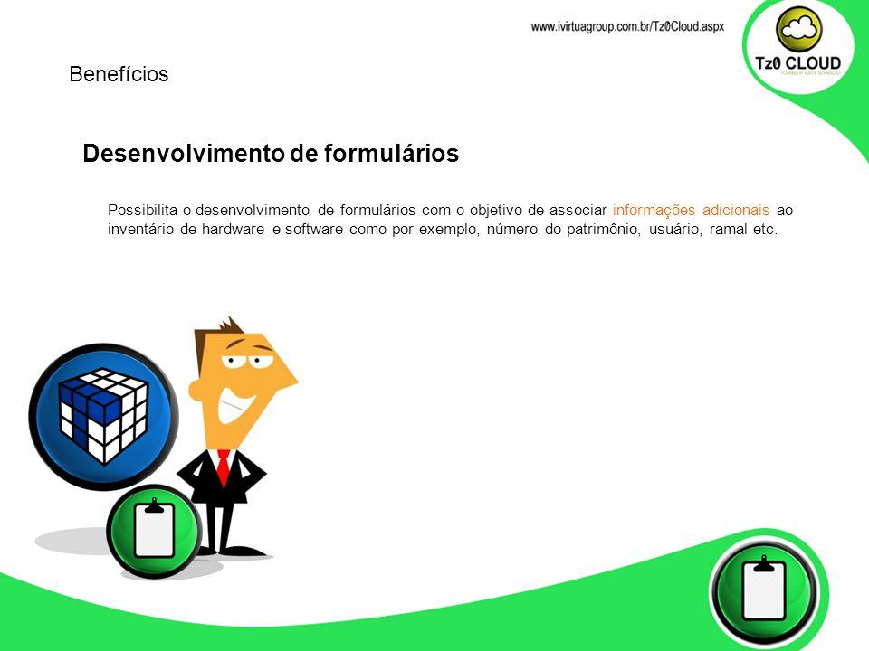 Desenvolvimento de formulários