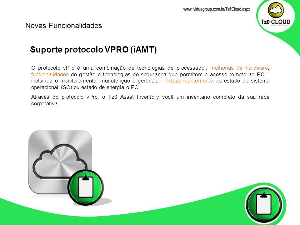 Suporte protocolo VPRO (iAMT)