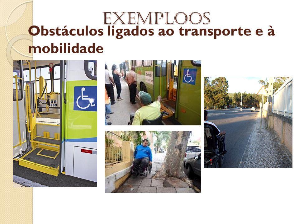 Obstáculos ligados ao transporte e à mobilidade