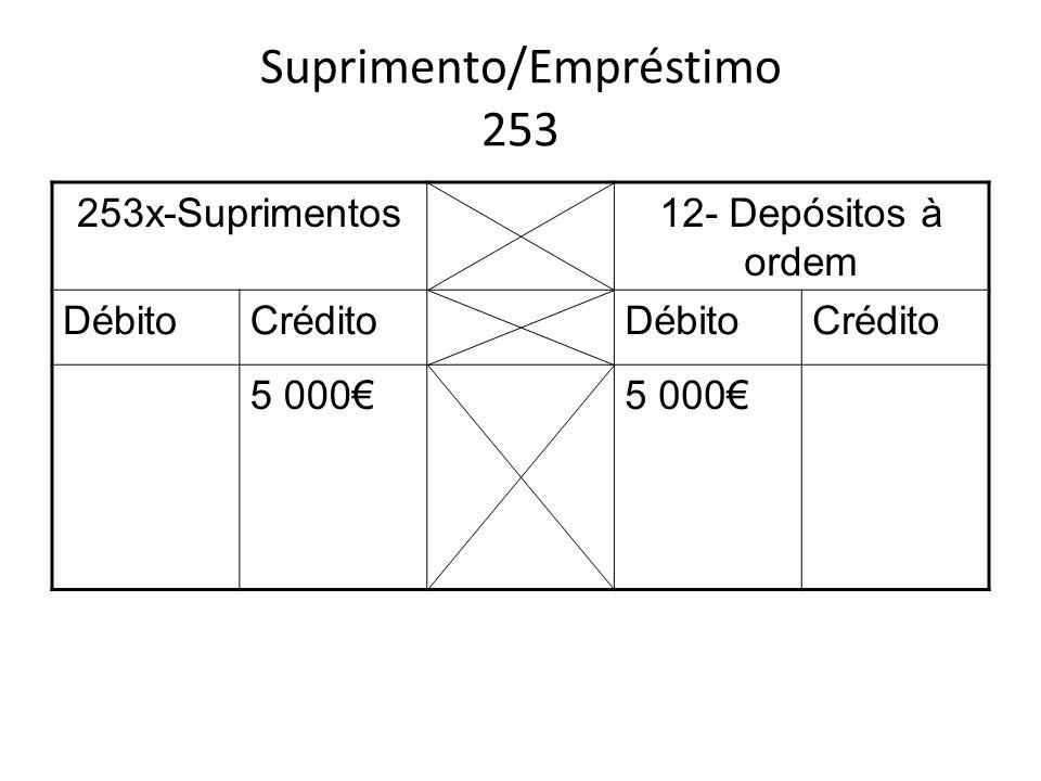 Suprimento/Empréstimo 253