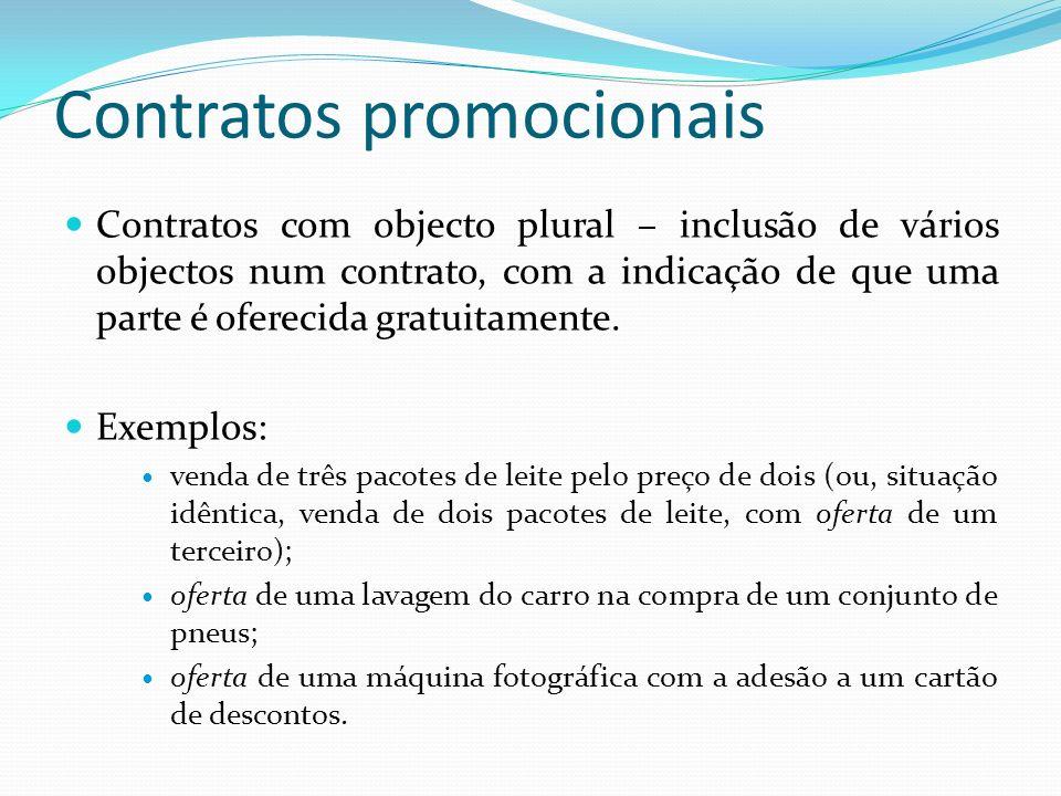 Contratos promocionais