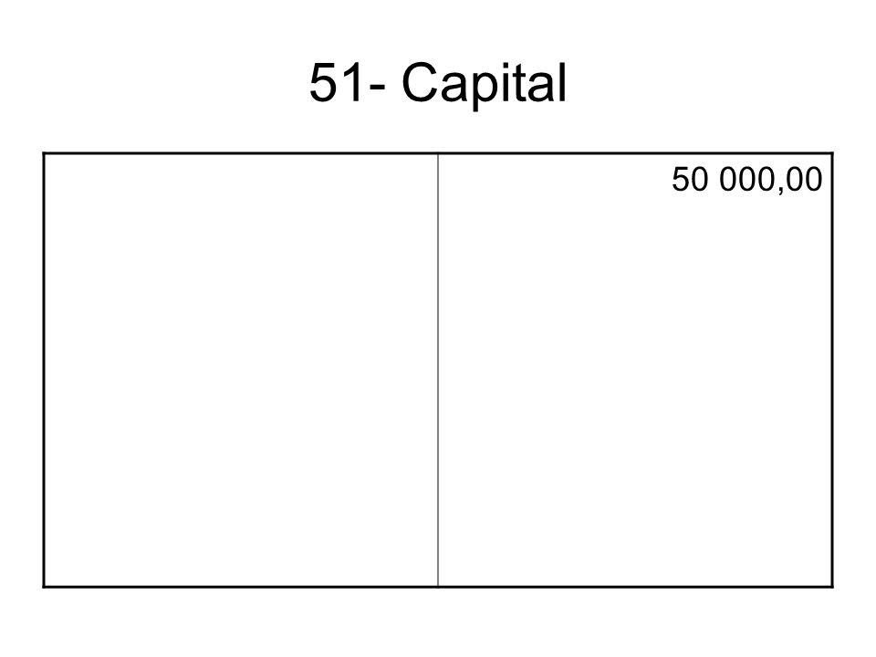 51- Capital 50 000,00