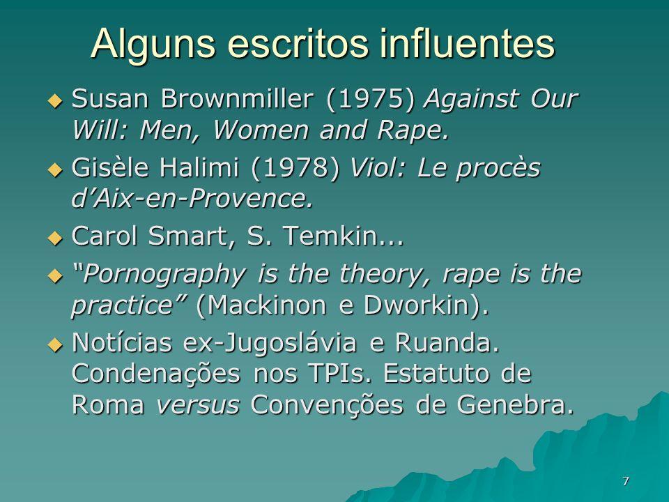 Alguns escritos influentes