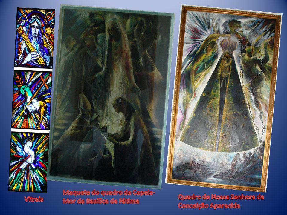 Maquete do quadro da Capela-Mor da Basílica de Fátima