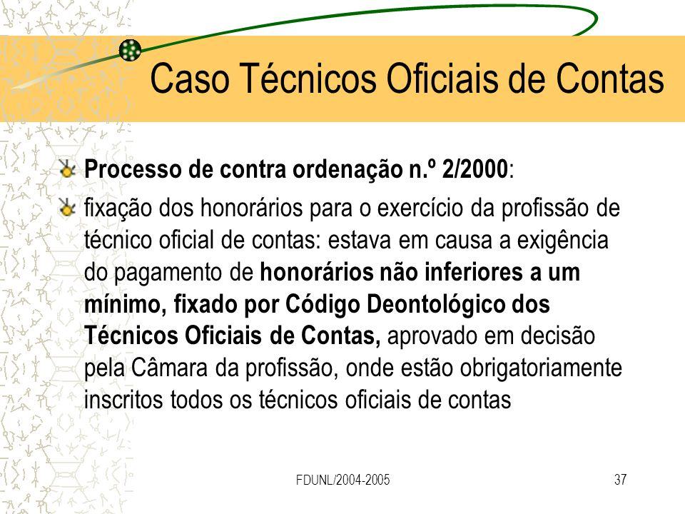 Caso Técnicos Oficiais de Contas
